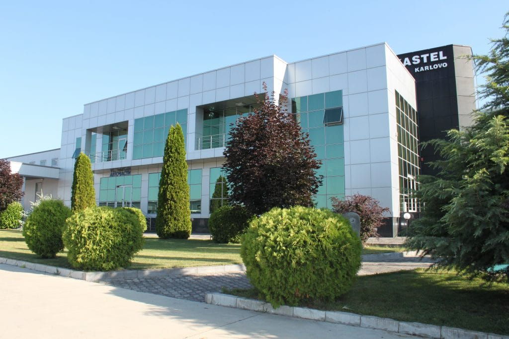 The construction of the central building and warehouse of the company in the town of Karlovo has been completed.