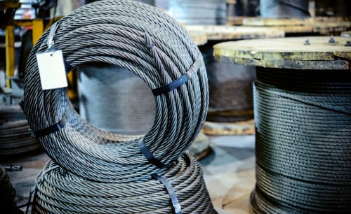 Kastel Export Ltd. expands its product range with the supply of steel wire ropes and accessories.